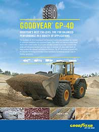 Goodyear GP-4D Sell Sheet Cover