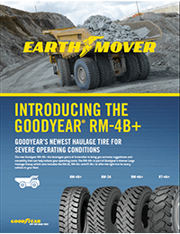 Goodyear RM-4B+ Brochure- Goodyear's newest haulage tire for severe operating conditions