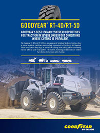 Goodyear RT-4D RT-5D Sell Sheet Cover