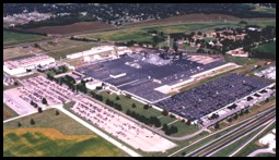 Aerial View of Goodyear Plant in Topeka
